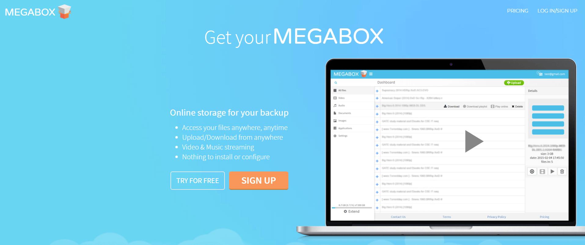 Megabox Preview