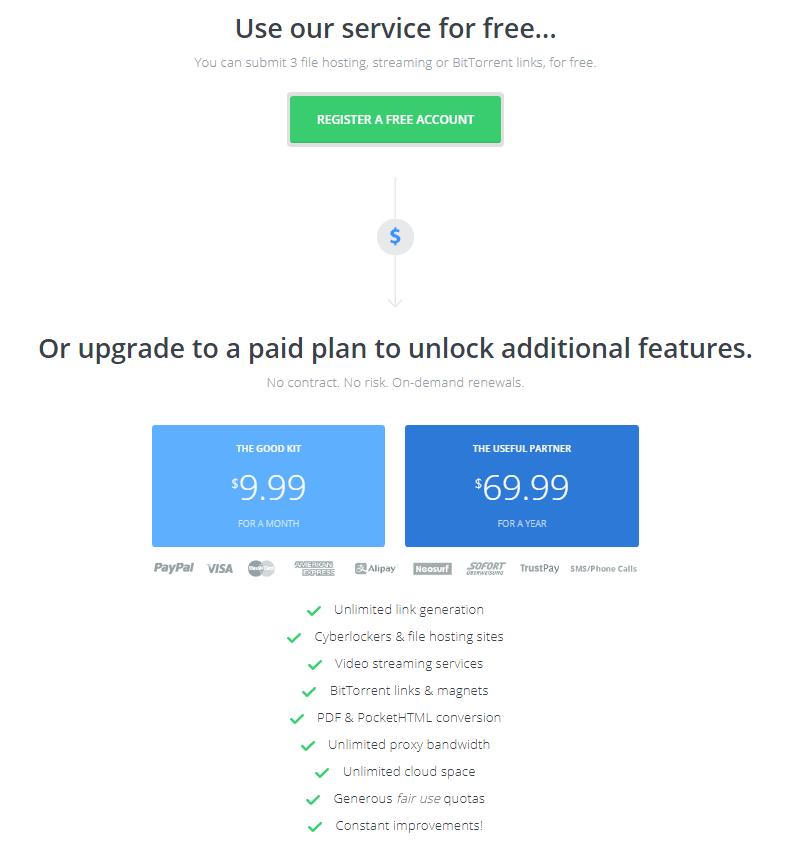 Offcloud Pricelist